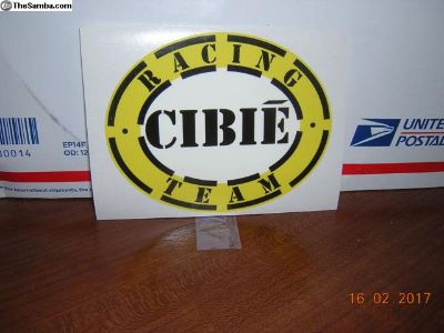 Cibie Racing Team Sticker