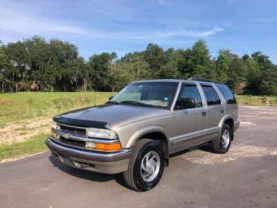 2000 Chevrolet Blazer LS (Gold)