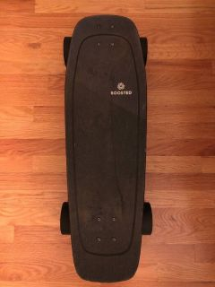Boosted MINI X upgraded