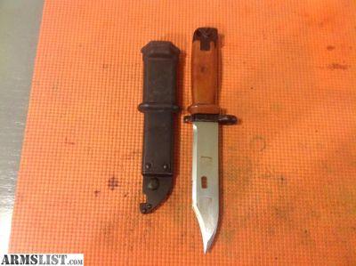 For Sale: AK style bayonet