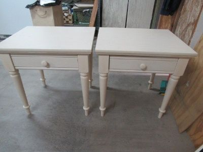 2 nice end tables