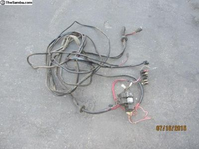 vanagon AC harness and relay block