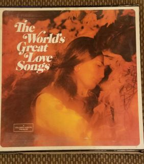 Vinyl Records ~ The World's Great Love Songs (6 records in 1 box!)