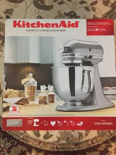 KitchenAid Artisan Series, Chrome silver, Stand Mixer 5-Quart