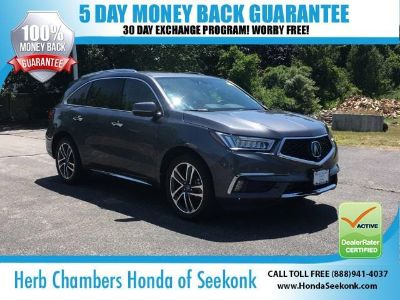 2017 Acura MDX Base w/Advance w/RES (Modern Steel)