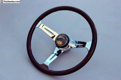 375mm Knollwood Black Cherry Steering Wheels