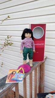 American Girl doll Ivy, Julie's best friend. Includes book, box & her accessories. Excellent, like new condition. See additional pics...