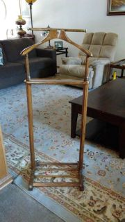 Mens Suit and Valet Stand