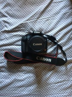 Canon Rebel Xsi + 18-55mm Lens + Carrying Case