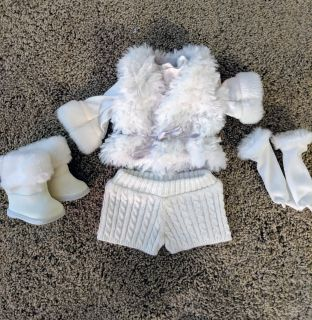 American Girl white winter outfit