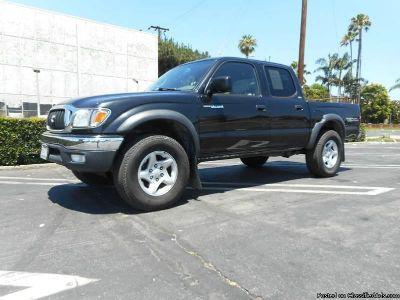 2003 Toyota Tacoma Black Truck 89325 Miles