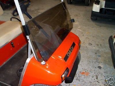 Find GOLF CART flip Windshield TINTED FOR CLUB CAR ds 82-99 motorcycle in Evansville, Indiana, United States, for US $86.99