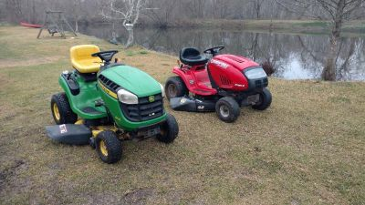 I have a few Riding lawnmowers for sale