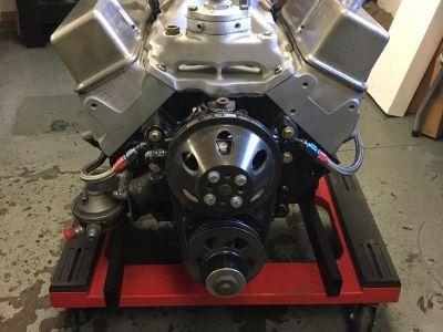 Chevy 360 23 Degree Modified Engine Brodix 10X