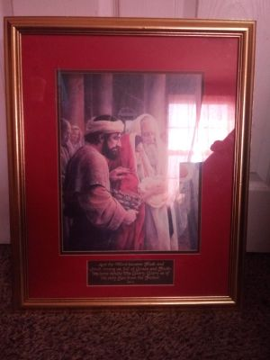 Christian Picture & Frame