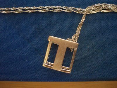 Monogram Necklace - Letter T (BNIB)