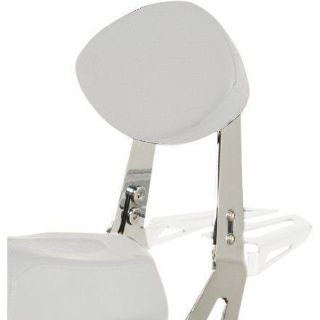 Buy Yamaha 27D-F84A0-V0-00 Chrome Quick-Release Passenger Backrest for Stryker motorcycle in Boulder, Colorado, United States, for US $259.99