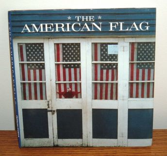 Vintage 1998 The American Flag Hard Cover Book w Dust Jacket by Whitney Smith