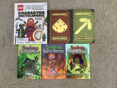 Kids Books-Lego, Minecraft and Goosebumps