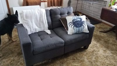 Apartment size couch & loveseat