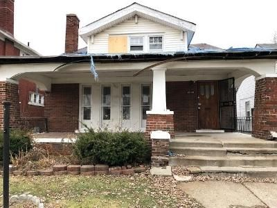 3 Bed 1 Bath Foreclosure Property in Detroit, MI 48213 - Rosemary St