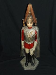 British Household Cavalry (Life Guards Regiment) Soldier Fireplace Tool Set