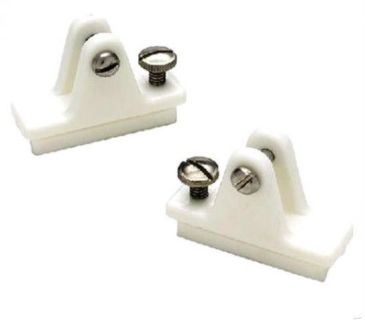 Find SeaChoice Pair (2) White Side Mount Deck Hinges w/ Slide Lock Bimini Top 76281 motorcycle in Valley Head, Alabama, United States, for US $9.66