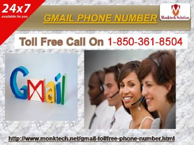 Gmail Phone Number quantity for the unmatched excellence at 1-850-361-8504