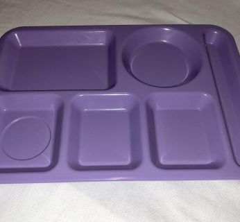 Lavender lunch tray 14.5 x10 never used