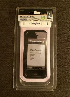 Waterproof Lanyard Case - NIP - Fits phones size of iPhone 8 - Does NOT Fit Plus