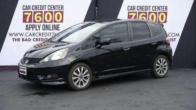 2012 Honda Fit Sport (Crystal Black Pearl)