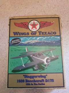 Wings of Texaco-Staggerwing 1939 Beechcraft D17S with Black Chrome finish Airplane 12th in series