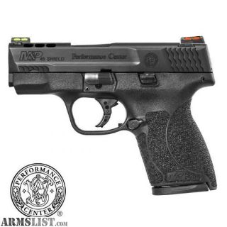 For Sale: SMITH AND WESSON M&P PERFORMANCE CENTER SHIELD