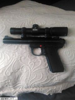 For Sale/Trade: 22/45 ruger,Burris scope
