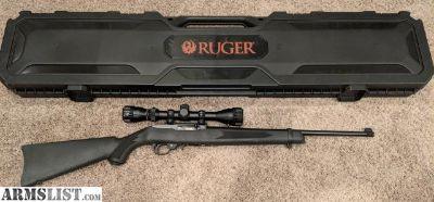 For Sale/Trade: Ruger 10/22, scope, hard case