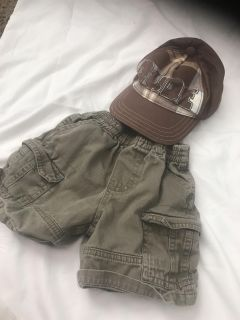 Boys shirts and hat