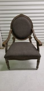 Gray Arm Chairs - Price is for the PAIR