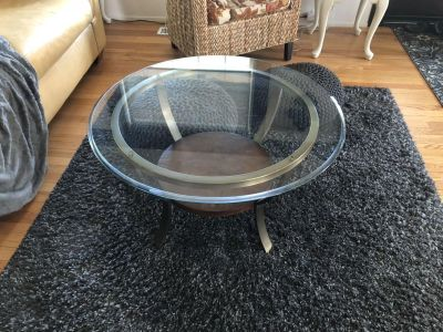 Set of 3, coffee table and 2 end tables.