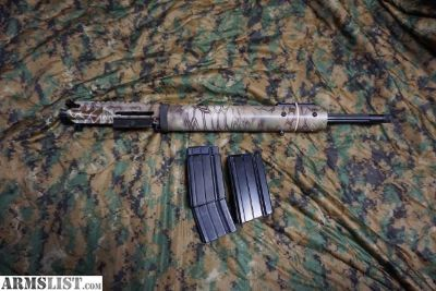 "For Sale/Trade: Alexander Arms 6.5 Grendel Factory Complete 18"" match upper Kryptek Camo"