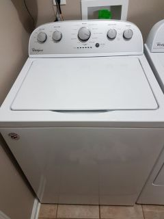 Whirlpool WTW5000DW Top Load HE Low Water Washer