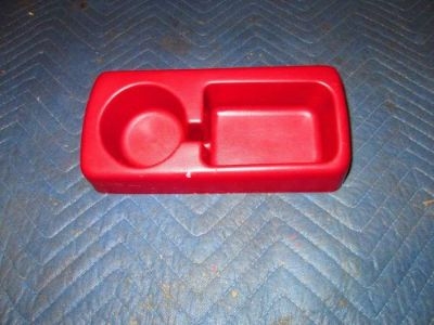 Find 1992 1993 1994 1995 1996 1997 F150 F250 F350 BENCH SEAT CUP HOLDER OEM RED motorcycle in Saint Clair Shores, Michigan, United States