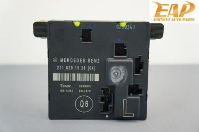 Buy 03-06 MERCEDES E500 REAR LEFT DOOR CONTROL MODULE COMPUTER 2118201526 W211 #2 motorcycle in Thonotosassa, Florida, United States, for US $43.99