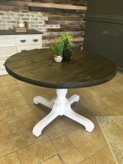 Solid antique round table FREE DELIVERY