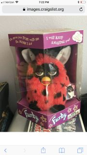 Original First Edition Furby