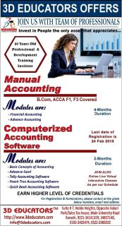 MANUAL ACCOUNTING COMPUTERIZED ACCOUNTING SOFTWARE TRAINING