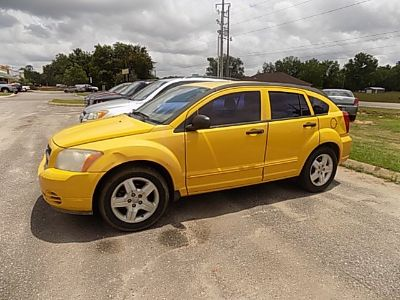 2007 Dodge Caliber SXT (Yellow)