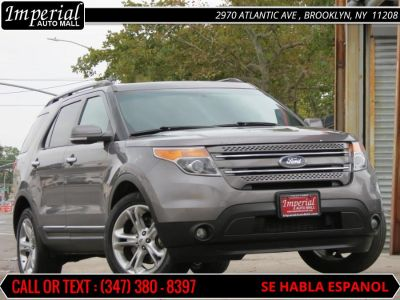 2013 Ford Explorer Limited (Gray)
