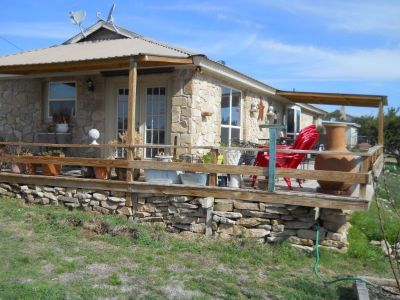 $129900 LAKE HOUSE ON WOODED 2 ACRES MUST GO (O.H Ivie Lake, Near Paint Rock, TX)