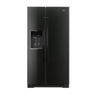 "Whirlpool 36"" Side by Side Refrigerator WRS586FLDB *Closeout*"