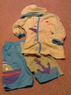 24 mth Boys Swim Suit & Cover Up